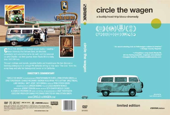 Circle the Wagen DVD cover art • branding by Concepción Studios